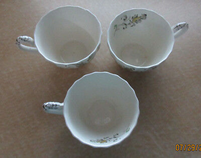 Lot Of 3 Myott Vanity Fair Tea cups