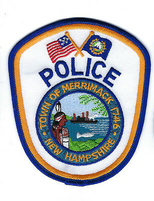 Merrimack (Hillsborough County) NH New Hampshire Police Dept. patch - NEW!