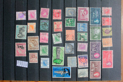 Lot Stamps Old British Colonies Used (F111406)