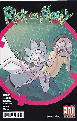 RICK AND MORTY (2015) #41 - Cover A - New Bagged