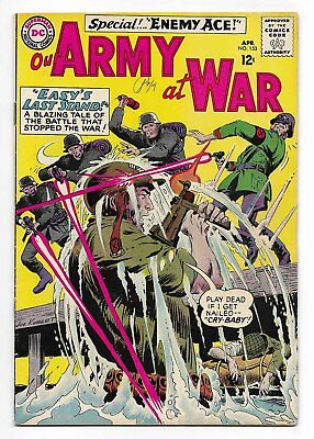 1965 DC Our Army At War #153 Comic Book 2nd Enemy Ace
