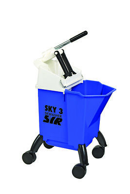 Sky 3 Combo Bucket  With Integral Wringer 10L (Blue)