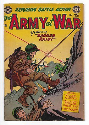 1954 DC Our Army At War #22 Comic Book