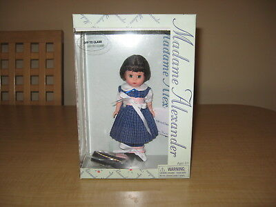 """MADAME ALEXANDER  """"OFF to CLASS"""" DOLL #35645 New In Box"""