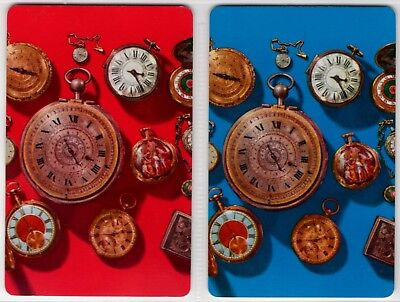 1 Single Pair Of Swap Playing Cards: Antique Pocket Watches