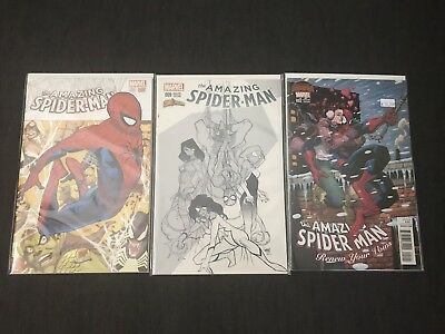 The Amazing Spider-Man Variant Lot 1 Comicxposure 9 Renew Your Vows 2 Marvel