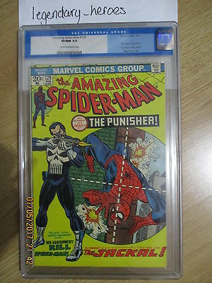 The Amazing Spider-Man 129 - First Appearance of The Punisher CGC 9.0