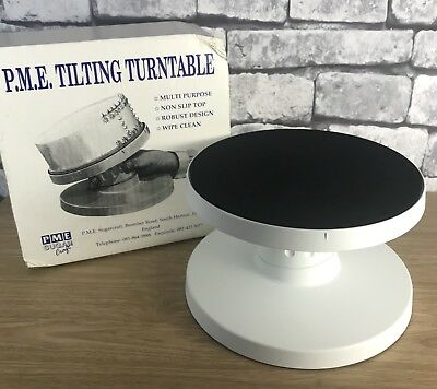 Tilting Turntable Non Slip Turntable Icing Cake Decorating Sugar craft Stand