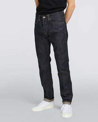 Edwin ED-80 Slim Fit Mens Jeans - 63 Rainbow Selvage Blue Unwashed