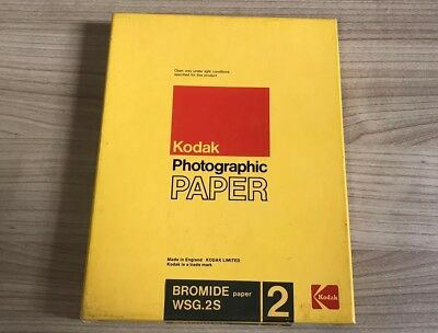 Kodak Photographic Paper Bromide 2 Normal WSG.2S Sealed In Box