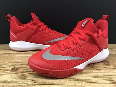 35c4e0169af0 Nike Zoom Shift TB 897811-600 University Red White Men s Basketball Shoes  Sz 10