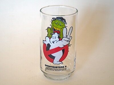 Ghostbusters II promo drinking glass, 'Slimer,' 3 available