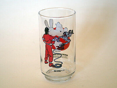 Ghostbosters II promo drinking glass, 'Six Eyes'