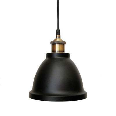 Metal Pendant Light Brass Fittings Dome Style Canopy Suit Kitchen or Bedroom