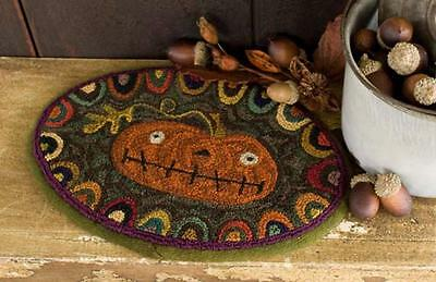 Prize Pumpkin 638 Halloween Punchneedle Punch Needle Threads That Bind Pattern
