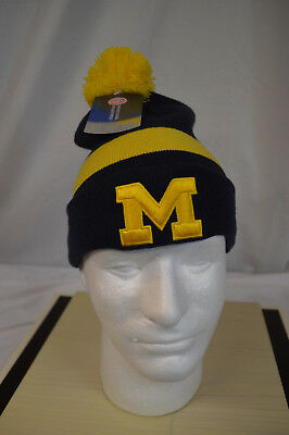 644baef4976 NEW NIKE AIR JORDAN JUMPMAN MICHIGAN WOLVERINES SIDELINE BEANIE KNIT HAT  Youth