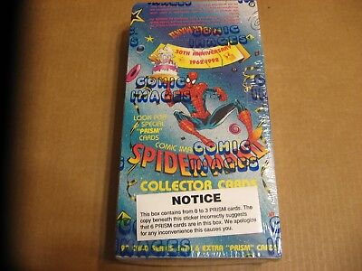Spider-Man Ii 30Th Anniversary 48 Packs Trading Card Box Comic Images Prism 1992