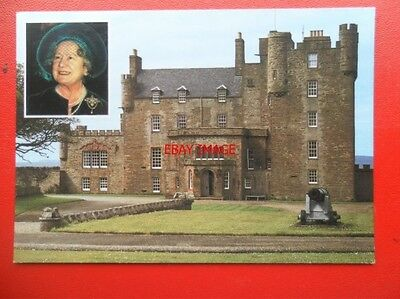 Postcard Royalty Queen Mother & Castle Of Mey