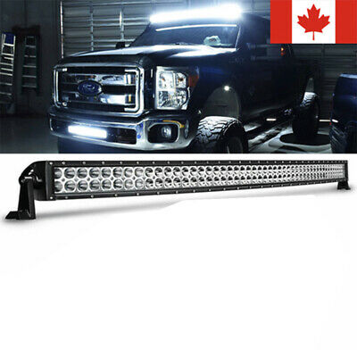 "32""Inch Curved +22"" LED Light Bar Combo+4"" CREE PODS OFFROAD SUV 4WD  FORD 20/30"