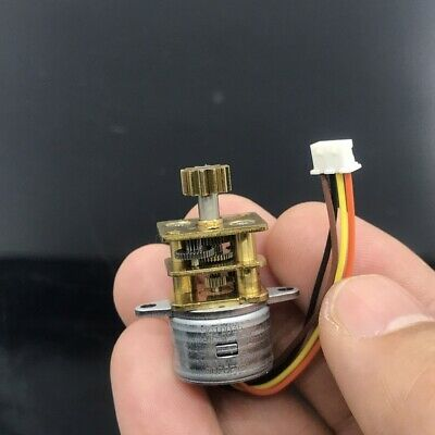 Micro 15mm 2-phase 4-wire Mini Metal Precise Gearbox Gear Stepper Stepping Motor