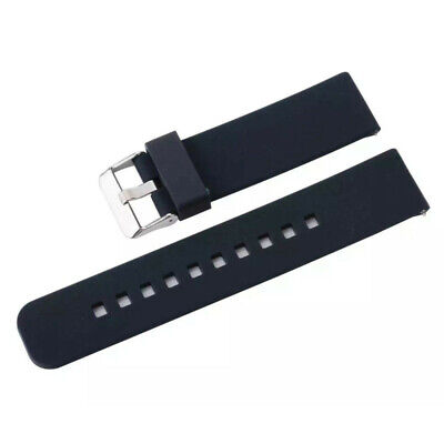 22mm Silicone-Wrist Watch Replacement Strap Band For Pebble-Time Smart Watch