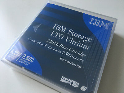 IBM LTO 6 Ultrium 00V7590 (2.5/6.25 TB) Data Cartridge