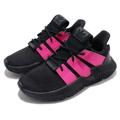 b5bba8c46ae adidas Originals Prophere W Black Shock Pink Women Running Shoes Sneakers  B37660