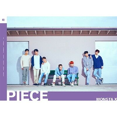 MONSTA X Japan 1st Full Album [PIECE] Type B (CD+DVD+Photobook) Limited Edition