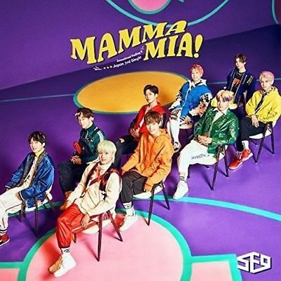 SF9 Japan 3rd Single [MAMMA MIA!] Type A (CD + Booklet) Limited Edition