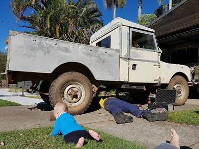 """Land Rover Series 1 1957 107"""" Utility"""