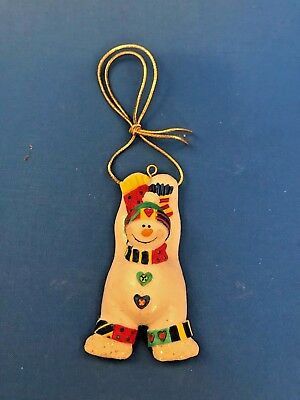 Avon Christmas Package Topper/Ornament-Snowman-New in Box