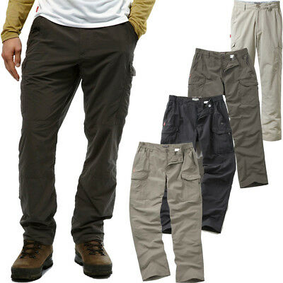 Craghoppers Mens Nosilife Solarshield Wicking Cargo Trousers