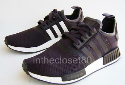 acdec58eb72d1 Adidas Nmd R1 Brown Trace Grey White CQ2412 Mens Trainers 7.5 8 11.5 12.5 13