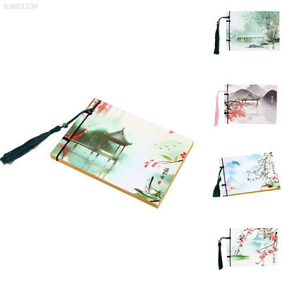 6C25 Vintage Diary Notebook Chinese Style Line Binding Writing Kids Student