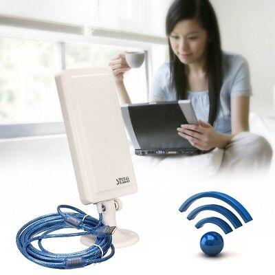 WiFi Outdoor Long Range Extender Wireless Router Booster Repeater WLAN Antenna
