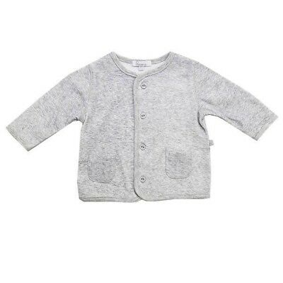 Baby Jacket by Plum Precious Clothes Lightweight Cotton Grey Coat Size 0 new