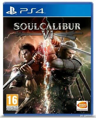 Soul Calibur Vi Ps4 Videogioco Italiano Playstation 4 Gioco Soul Calibur 6 Pal
