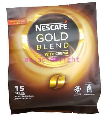 NESCAFE Gold Blend with Creama Premix Coffee  ( 20g x15 sticks )