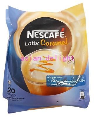 NESCAFE Latte Caramel Premix Coffee  ( 25g x 20 sticks )