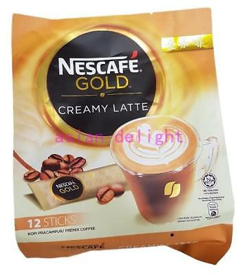 NESCAFE Gold Creamy Latte Premix Instant White Coffee ( 33g x12 sticks )