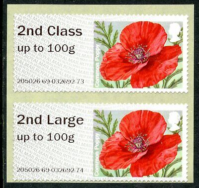 NCR TIIA ERROR 2nd + 2nd LARGE COLL SET on 2017 R17YAL POPPY ERRORS POST & GO