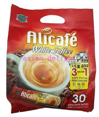 Alicafe 3 in 1 Instant Premix White Coffee (20 g x 30 sachets)