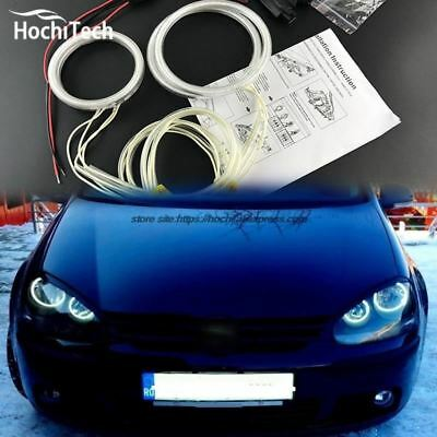ccfl angel eyes kit white 6000k ccfl halo rings headlight  for VW Volkswagen gol