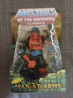 masters of the universe classics / MOTU Classics Man At Arms 2nd NEU/OVP