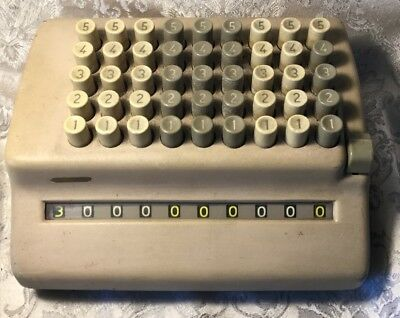 Vintage Antique Adding Machine Plus Bell Company  Limited Film Prop