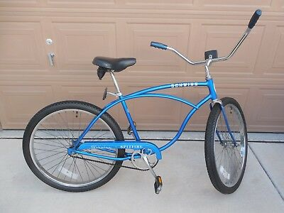 1979 Schwinn Spitfire Cruiser Bicycle original paint Sky Blue single speed bike
