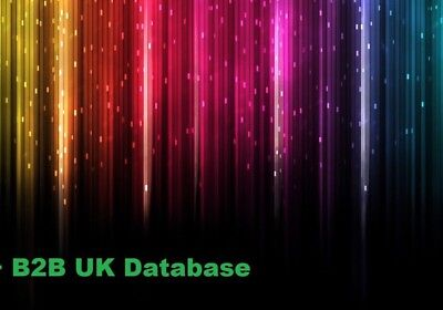 750k Plus  B2B UK Business Directory Mailing Email Database List Marketing