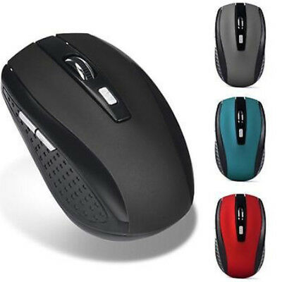 2000DPI Wireless Cordless Optical Vogue 2.4GHz Mouse USB Interface For PC Laptop