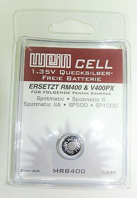 MR400 WeinCell MRB400 Non-Mercury Replacement for PX400 EPX400 RM400 H-B & more