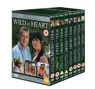 Wild at Heart - Complete Series NEW PAL Cult 21-DVD Set Stephen Tompkinson